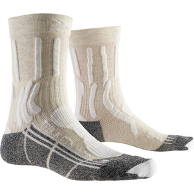 X-Socks Trek X CTN Calcetines Mujer, white/anthracite